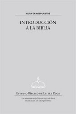 Introducción a la Biblia—Guía de Respuestas
