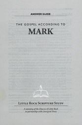 The Gospel According to Mark—Answer Guide