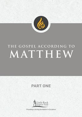 The Gospel According to Matthew, Part One